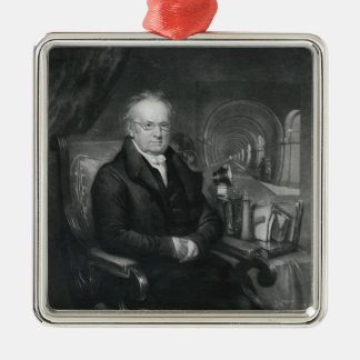 Sir Mark Isambard Brunel  c.1835 Silver-Colored Square Decoration
