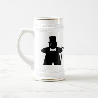 Sir Meeple dapper gamer stein Coffee Mug