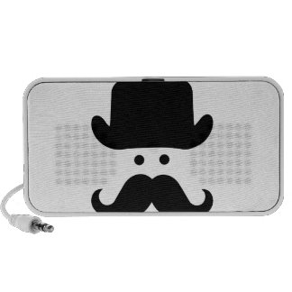 Sir Moustache Notebook Speakers