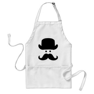 Sir Moustache Standard Apron