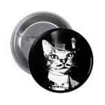 Sir Oswin Cat Button