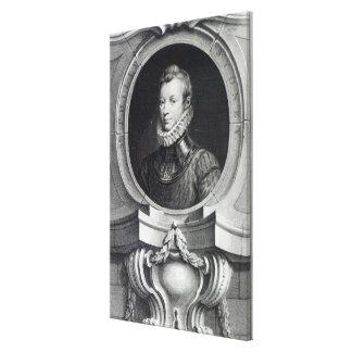 Sir Philip Sidney Canvas Print