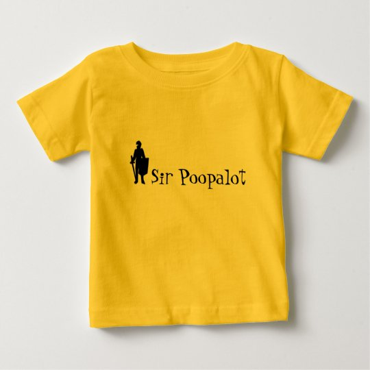 Sir Poopalot Baby T-Shirt