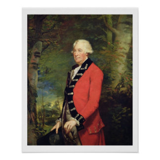 Sir Ralph Milbanke, 6th Baronet, in the Uniform of Poster