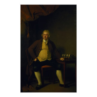 Sir Richard Arkwright, 1789-90 Poster