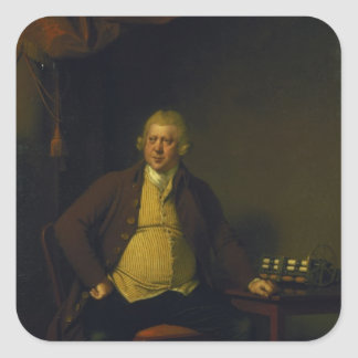 Sir Richard Arkwright, 1789-90 Square Sticker