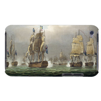 Sir Robert Calder's Action, July 22nd 1805, engrav Barely There iPod Cases