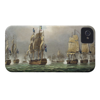 Sir Robert Calder's Action, July 22nd 1805, engrav iPhone 4 Covers