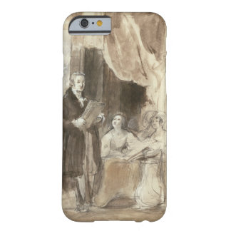 Sir Robert Peel Reading to Queen Victoria Barely There iPhone 6 Case