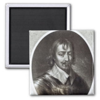 Sir Robert Rich  2nd Earl of Warwick Square Magnet