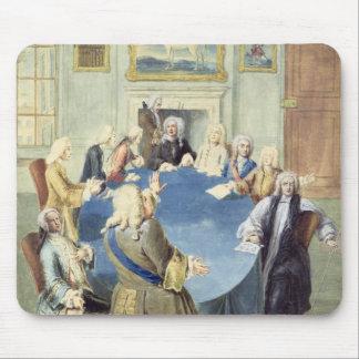 Sir Robert Walpole addressing his cabinet Mouse Mat