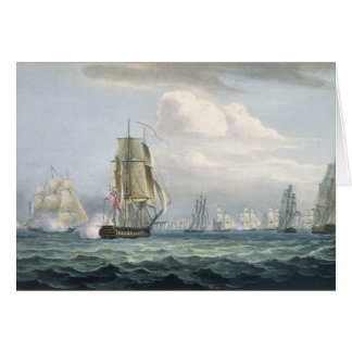 Sir Sidney Smith's (1764-1840) Squadron engaging a Card