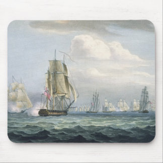 Sir Sidney Smith's (1764-1840) Squadron engaging a Mouse Pad