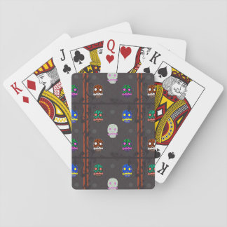 Sir Skull Dark Playing Cards