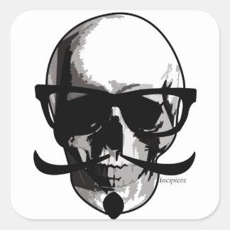 Sir Skull Large Sticker