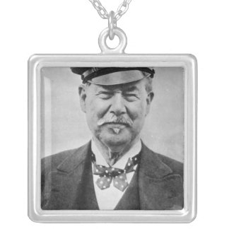 Sir Thomas Lipton Silver Plated Necklace