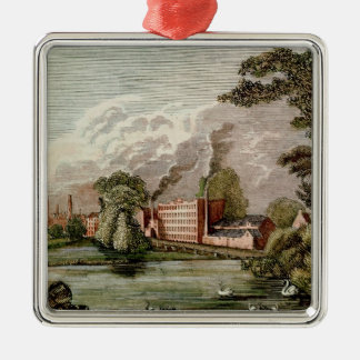 Sir Thomas Lombe's Silk Mill, Derby Christmas Ornament