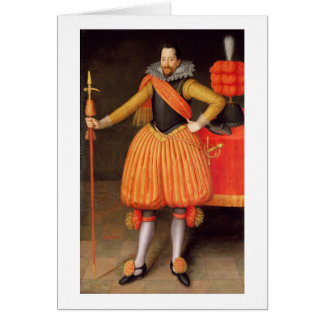 Sir Thomas Winne, c.1615 (oil on canvas) Greeting Card