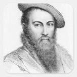 Sir Thomas Wyatt Square Sticker
