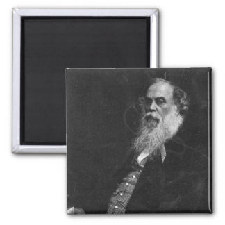 Sir Titus Salt, engraved by William Holl Square Magnet