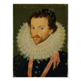 Sir Walter Raleigh 2 Poster