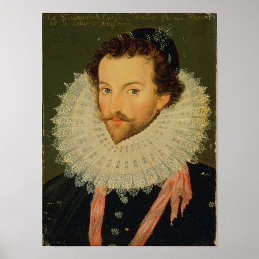 Sir Walter Raleigh 2 Poster