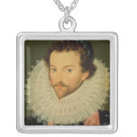 Sir Walter Raleigh 2 Silver Plated Necklace