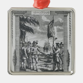 Sir Walter Raleigh Christmas Ornament