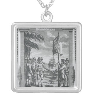 Sir Walter Raleigh Silver Plated Necklace
