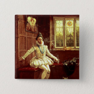 Sir Walter Raleigh's  First Smoke 15 Cm Square Badge