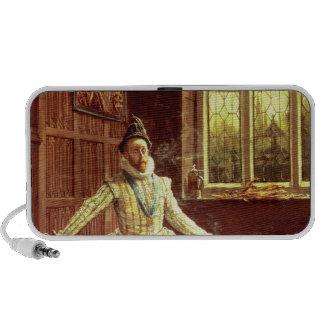 Sir Walter Raleigh's  First Smoke Travelling Speakers