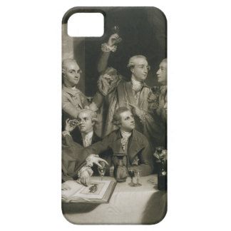 Sir William Hamilton (1730-1803) with other Connoi iPhone 5 Case