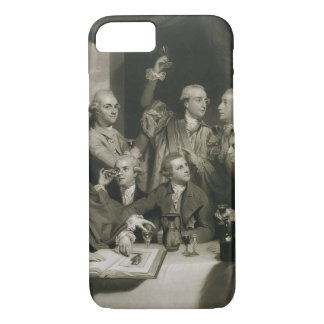 Sir William Hamilton (1730-1803) with other Connoi iPhone 8/7 Case