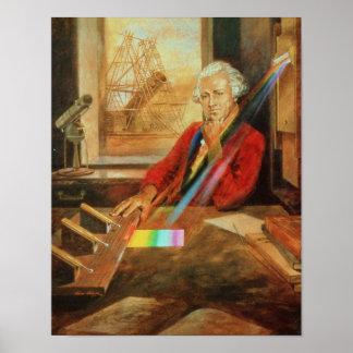 Sir William Herschel Poster