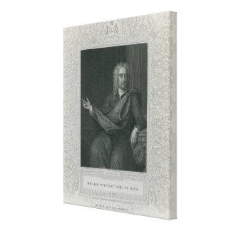 Sir William Pulteney, Earl of Bath Canvas Print