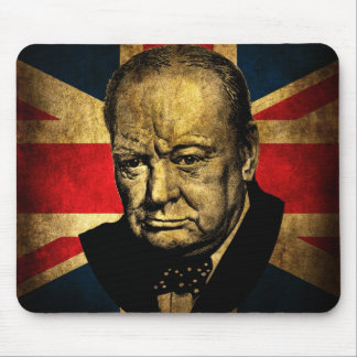 Sir Winston Churchill Mouse Mat