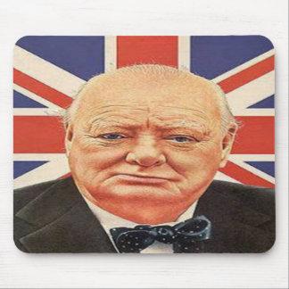 Sir Winston Churchill Mouse Mat