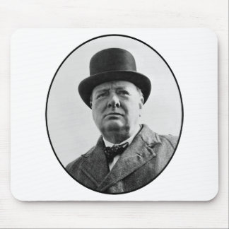 Sir Winston Churchill Mousepads