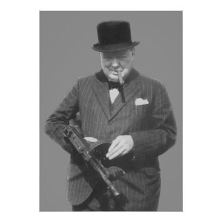 Sir Winston Churchill Posters