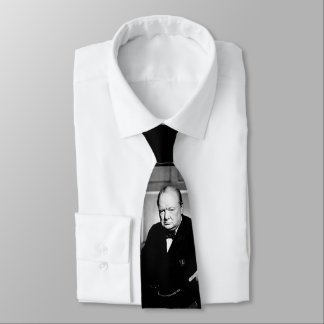 Sir Winston Churchill Tie