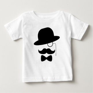 Sir with Moustache Baby T-Shirt