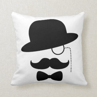 Sir with Moustache Cushion