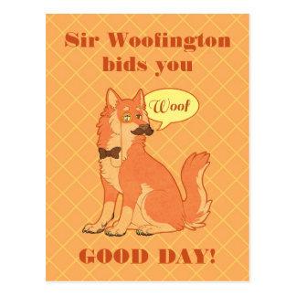 Sir Woofington Post Card