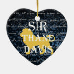 Sir Xmas Ornament