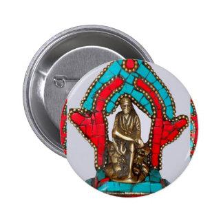 SIRDI SAI BABA - Saibaba 6 Cm Round Badge