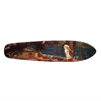 siren bored too 21.6 cm old school skateboard deck
