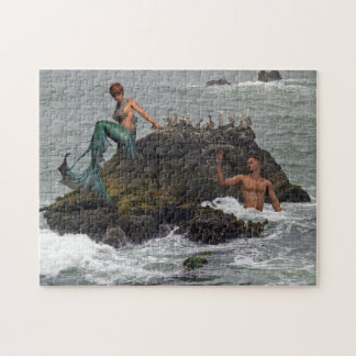 Siren, mermaid jigsaw puzzle