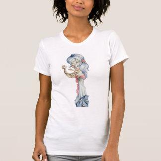 Siren Mermaid Skull Big Eyed Art Tank Top