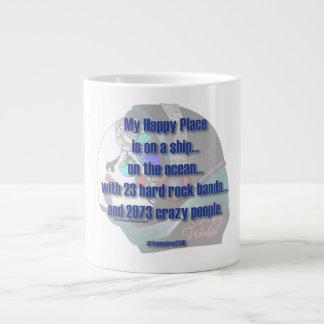 Siren - My Happy Place Large Coffee Mug