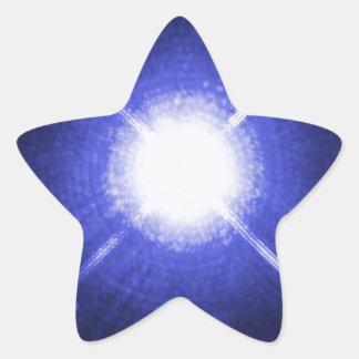 Sirius A and B bright night stars Star Sticker
